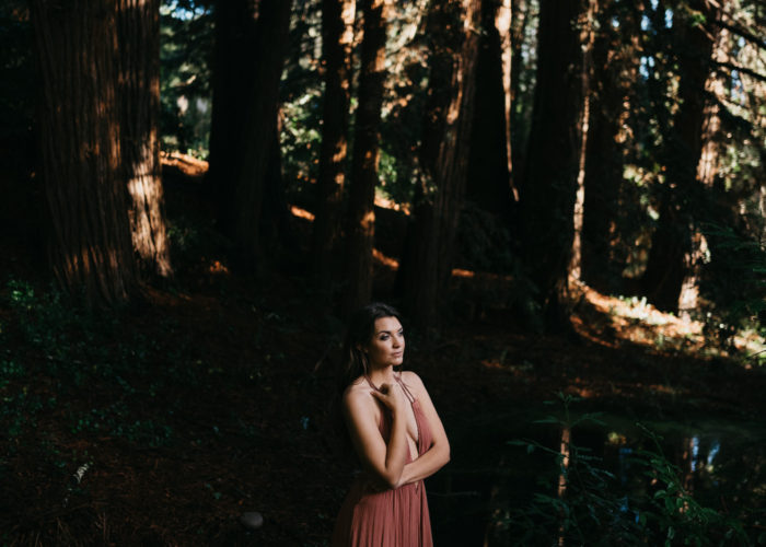 Backyard Bohemian Forest Session// Nisene Marks