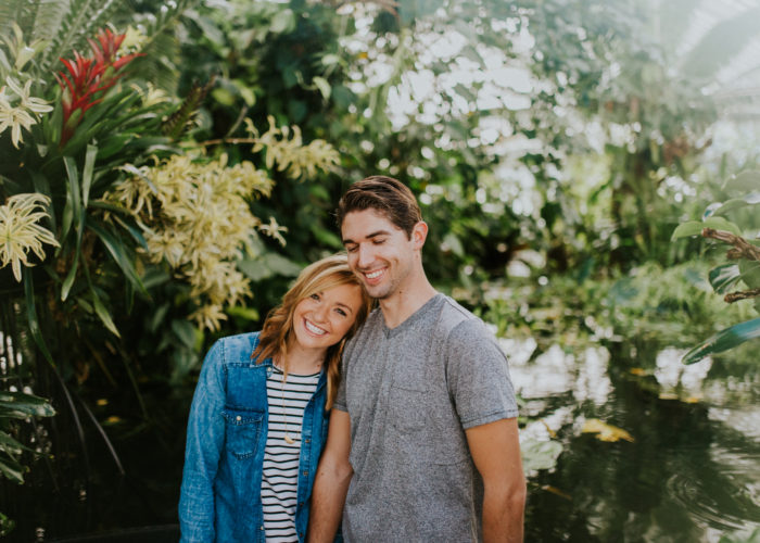 SF Conservatory of Flowers // Kaely & Jake San Fransisco Session